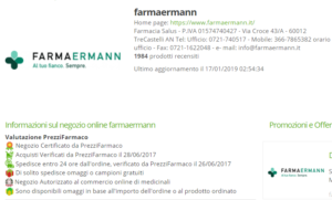 badge farmacia online Farmaermann